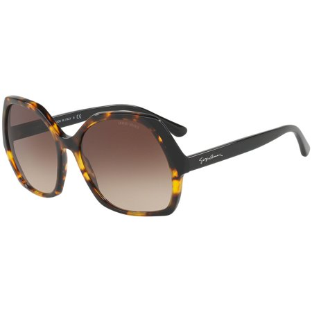 Giorgio Armani Sunglasses AR8099 5584/13 Havana Frames Brown Lens 58MM