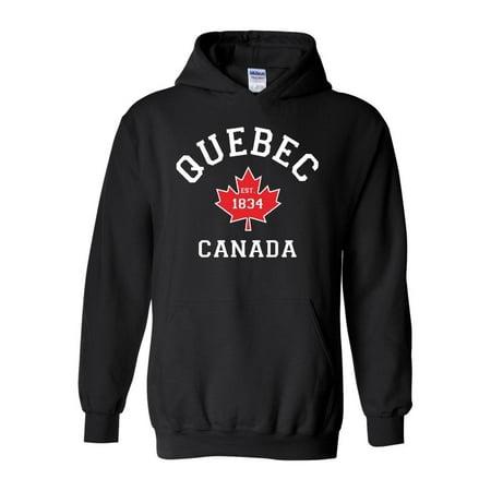 Quebec Unisex Hoodie Hooded Sweatshirt