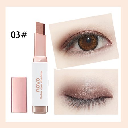 New Gradient Two-Color Eye Shadow Stick Shimmer Palette Eye Cream (Stack Pallet)