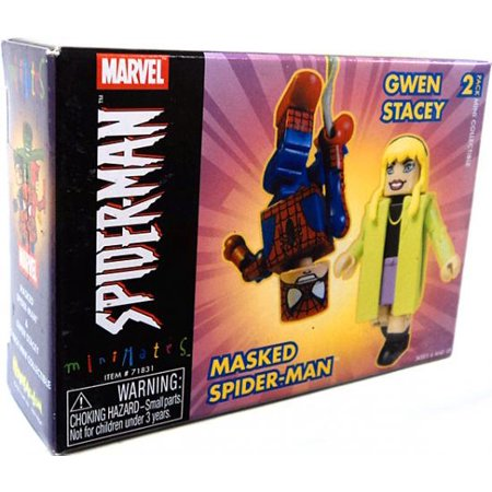 Minimates Masked Spider-Man & Gwen Stacy Minifigure - Gwen Stacy Oscorp