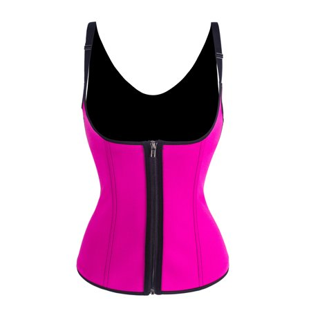 Waist Trainer Corset Vest Shapewear Adjustable Elastic Waist Trainer for Women Weight Loss Body