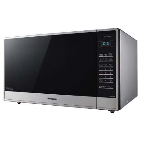 Panasonic Nn St975s Countertop Microwave 2 Cu Ft Stainless Steel Zoomed Image