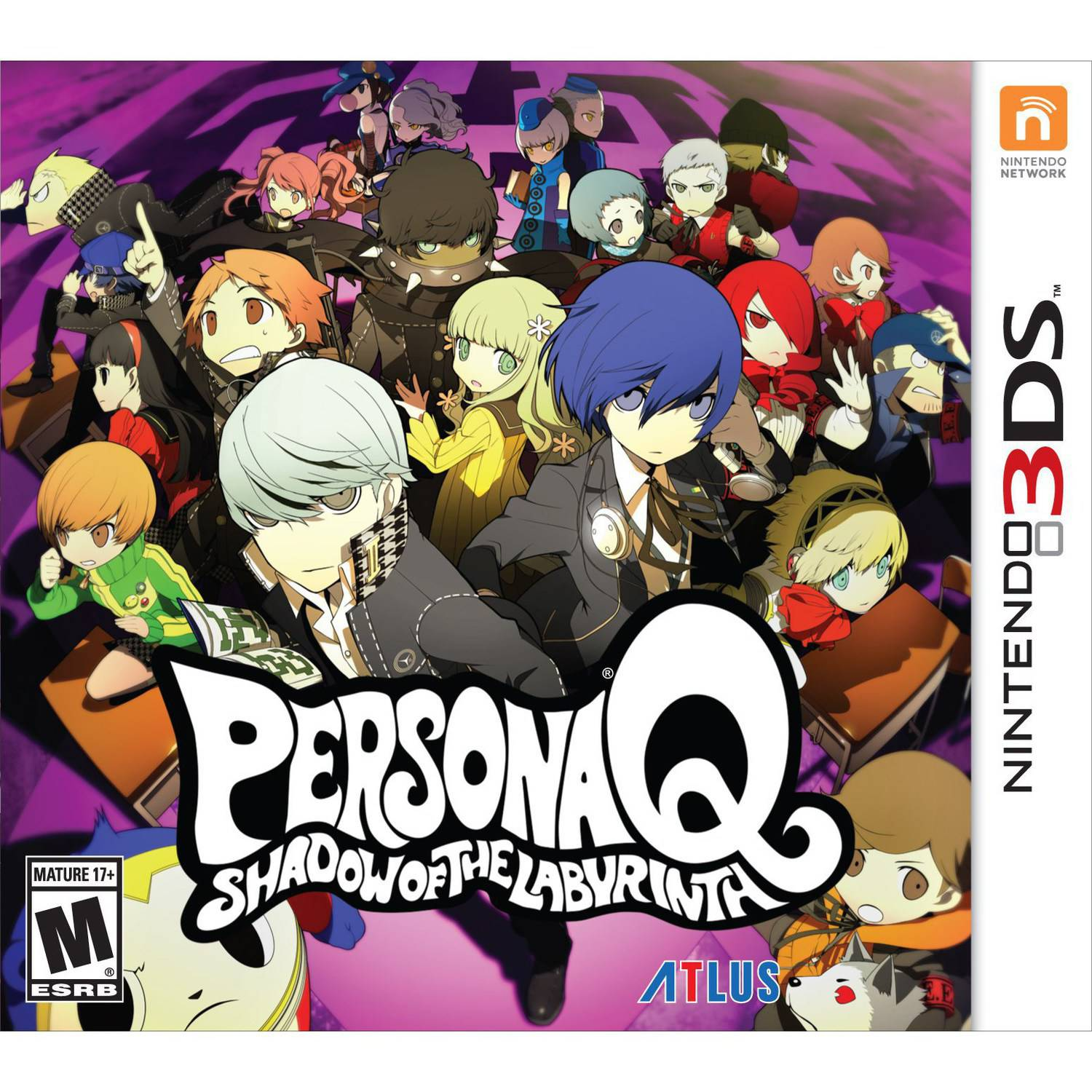 Persona Q: Shadow of the Labyrinth: Wild Cards Premium Edition (Nintendo 3DS)