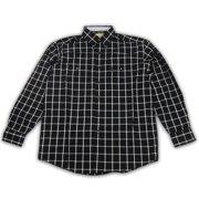 Wrangler Mens Western George Strait Shirt Black MGS48XM (Medium)