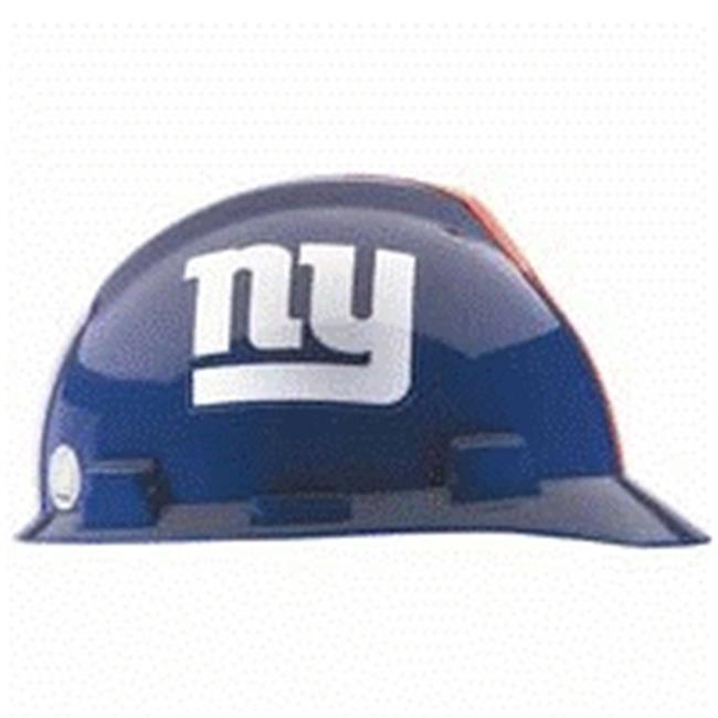 MSA 454-818403 Standard V-Gard Hard Capw-New York Giants Logo