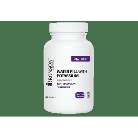 Bronson Water Pill avec le potassium, 90 comprimés