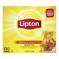 Lipton Black Tea, Tea Bags 8 oz 100 Count