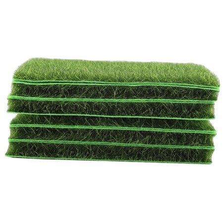 Rdeghly 10 PCS Artificial Grass Mat Turf Lawn Garden Micro Landscape Ornament Home Decor, Artificial Turf, Synthetic Turf - image 6 of 8