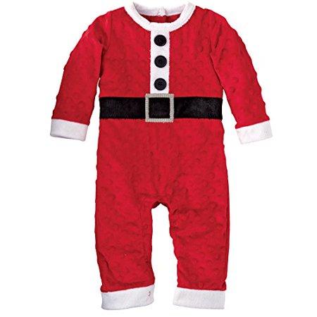 Mud Pie Baby-Boys Newborn Santa One Piece, Red, 0-6 Months for $<!---->