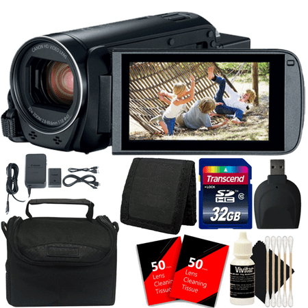 Canon VIXIA HF R800 HD Camcorder Black with 32GB Memory Card and Accessory Kit