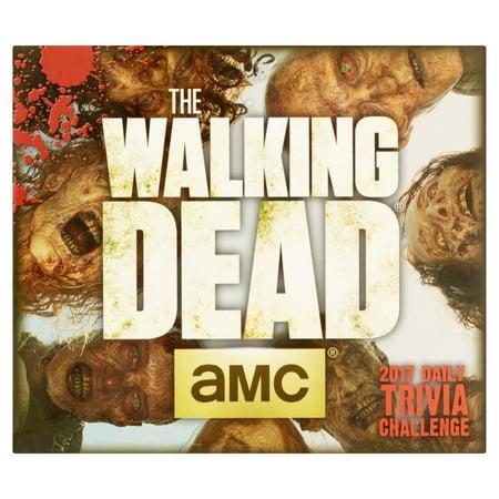 Amc The Walking Dead 2017 Daily Trivia Challenge Calendar