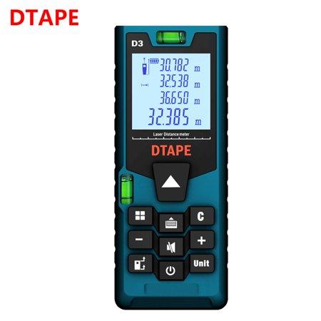 Digital Laser Distance Meters Rangefinder Home Hand Tools 120m Range Finder ()