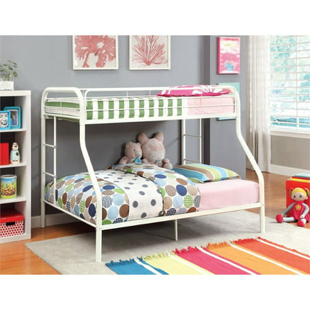 Furniture Of America Capelli Twin Over Full Metal Bunk Bed