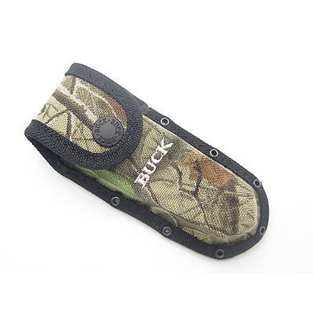 BUCK 460 183 CROSSLOCK CAMO NYLON FOLDING POCKET KNIFE
