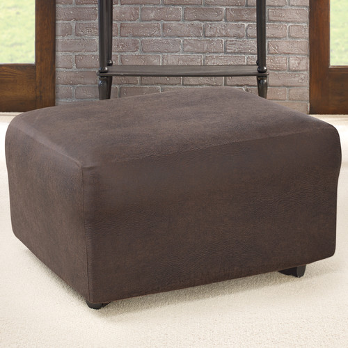Sure Fit Ultimate Stretch Ottoman Slipcover