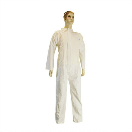 Microporus Film Over PP Coverall w/ Hood Lot of 1 Pack(s) of 1 Unit (Kitchen Aid Major Appliances)