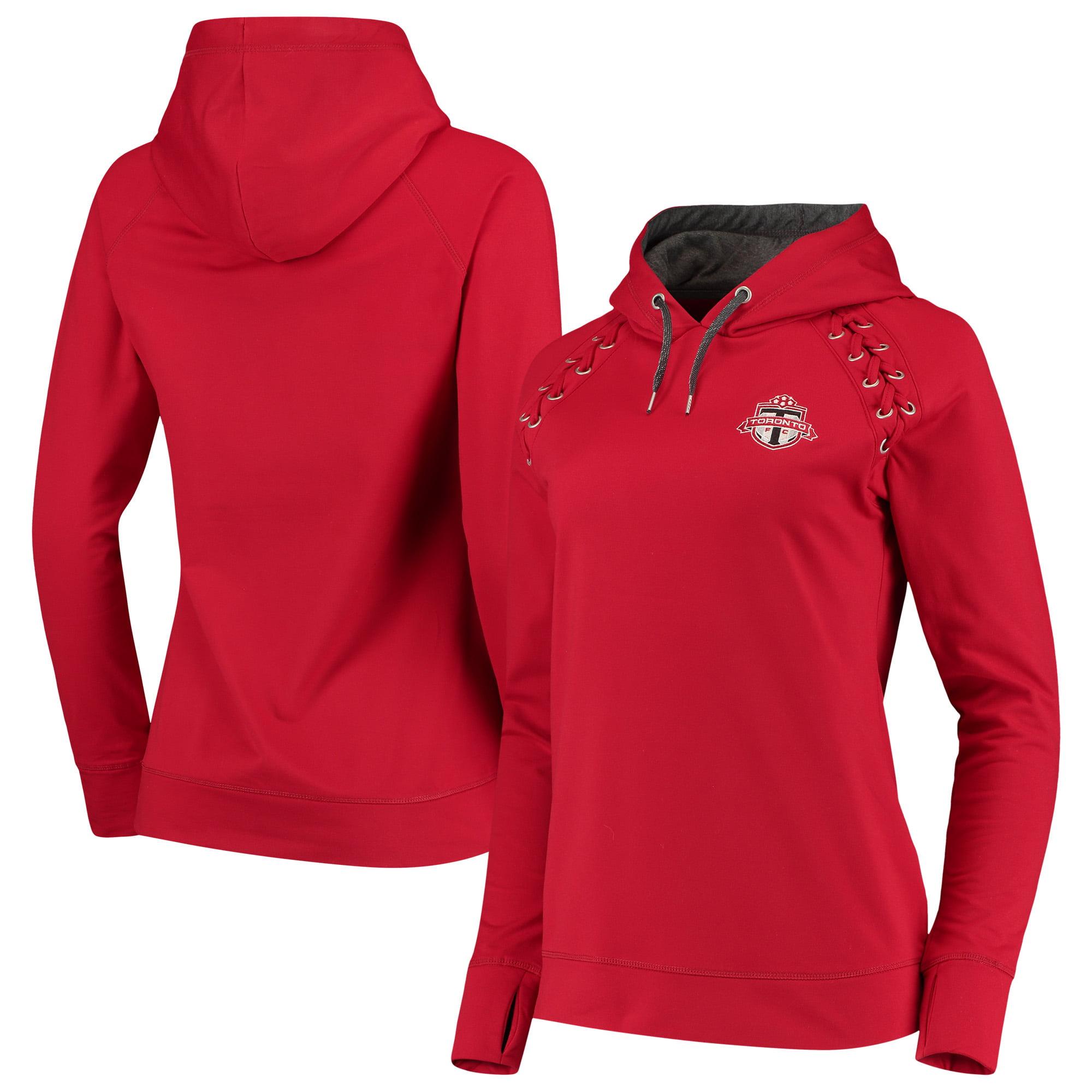 Toronto FC Antigua Women's Craze Pullover Hoodie - Red