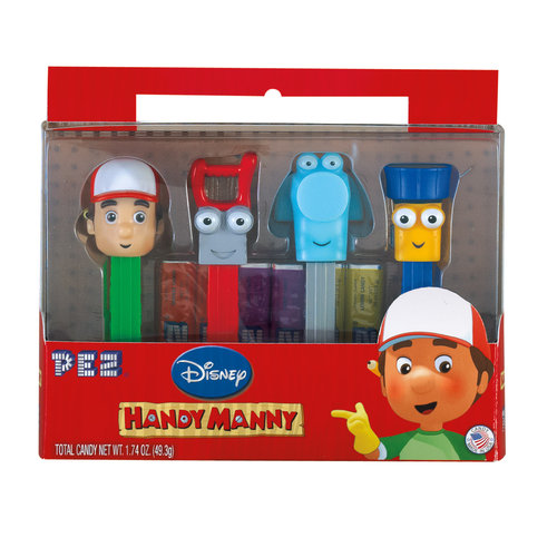 Pez Candy Inc Disney Handy Manny Gift Set