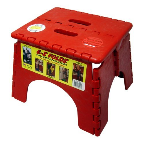 B And R Plastics 9 In Ez Foldz Step Stool Walmart Com