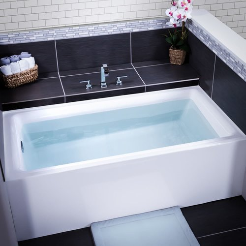 Charmant Miseno Vitality 60u0027u0027 X 30u0027u0027 Three Wall Alcove Soaking Bathtub