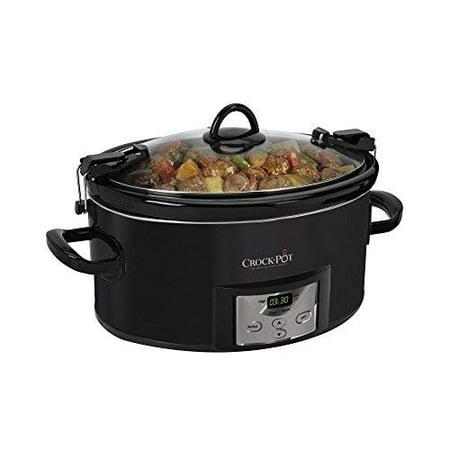 Crock-Pot 7-Qt. Cook n Carry Programmable Countdown Slow Cooker