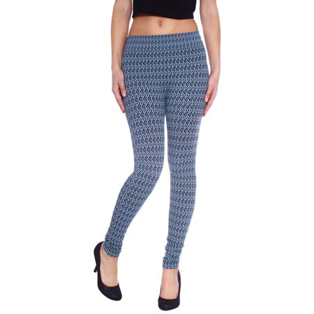 Simplicity® Women Multi Print Legging Tight Pants, Stretch Fit, #24
