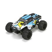ECX 00013T1 1/24 Ruckus 4wd Monster Truck: Black/White Ready-to-Run
