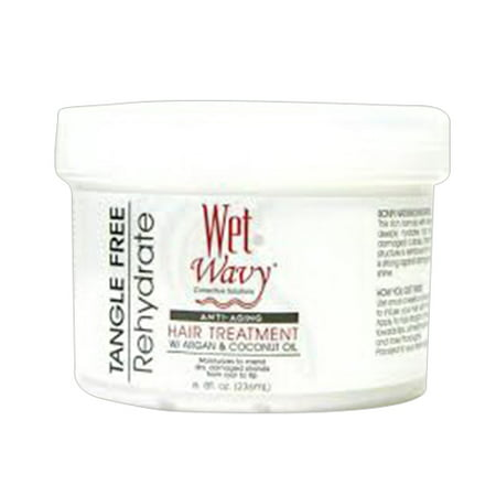 WET N WAVY HAIR TRTMT MASK 8 OZ (Best Hair Products For Wet And Wavy Weave)