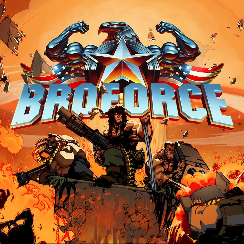 Nintendo, Broforce, Switch, 045496662448
