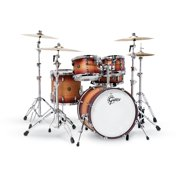 Gretsch Renown 5 Piece Drum Set Satin Tobacco Burst