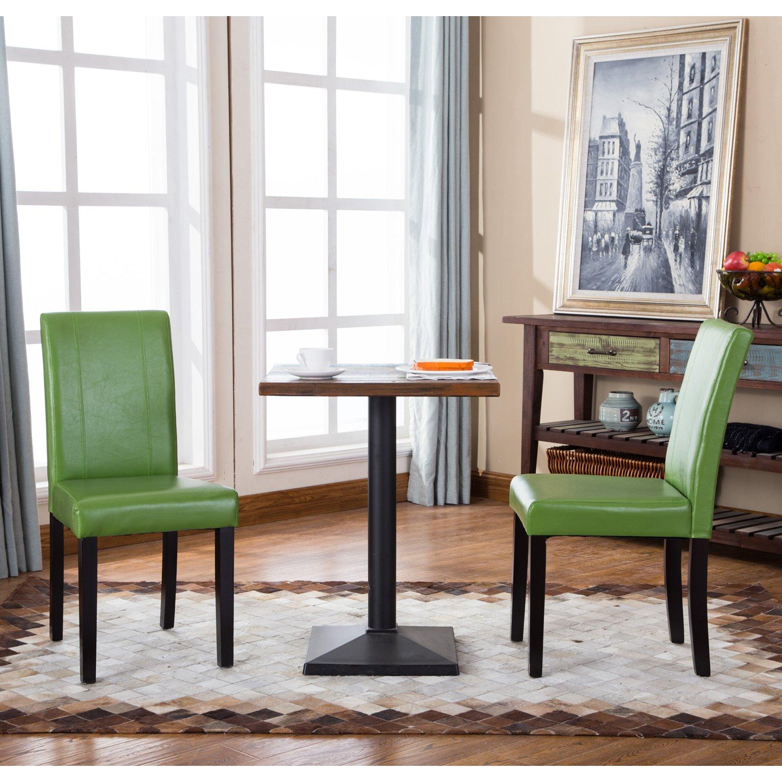 Roundhill Furniture Urban Parson Chair (Set of 2)
