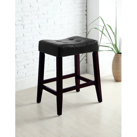 "Kent 24"" Saddle Stool (PAIR)"