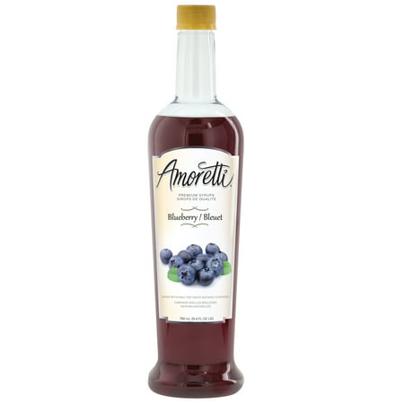 Maine Blueberry Syrup - Amoretti Premium Blueberry Syrup (750mL)