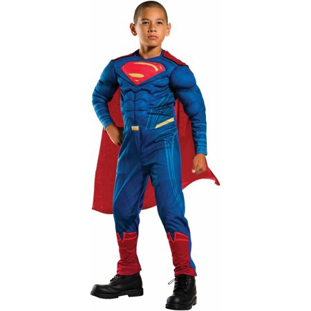 Justice League Superman Child's Costume, Medium (8-10) for $<!---->