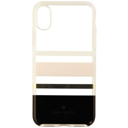 free shipping 4f3d4 80758 Kate Spade New York Flexible Hardshell Case for iPhone X 10 - Charlotte