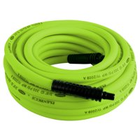 "Flexzilla HFZ3850YW2 3/8"" X 50' Flexzilla Air Hose 1/4"" MNPT Ends"
