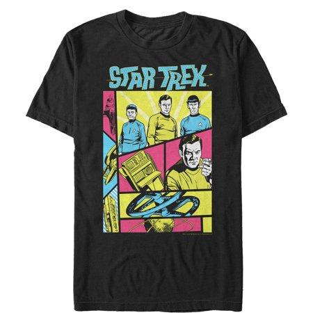 Star Trek Men's Retro Character Frames T-Shirt Star Trek Character