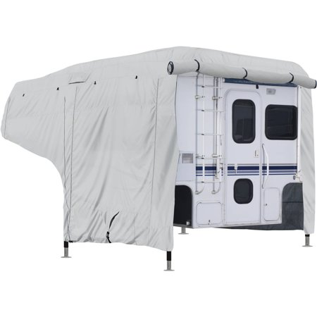 Classic Accessories OverDrive PermaPRO Deluxe Camper Cover, Fits 8