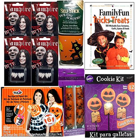 Family Fun Magazine Halloween Food (Halloween Family Fun Pack 9 Piece)