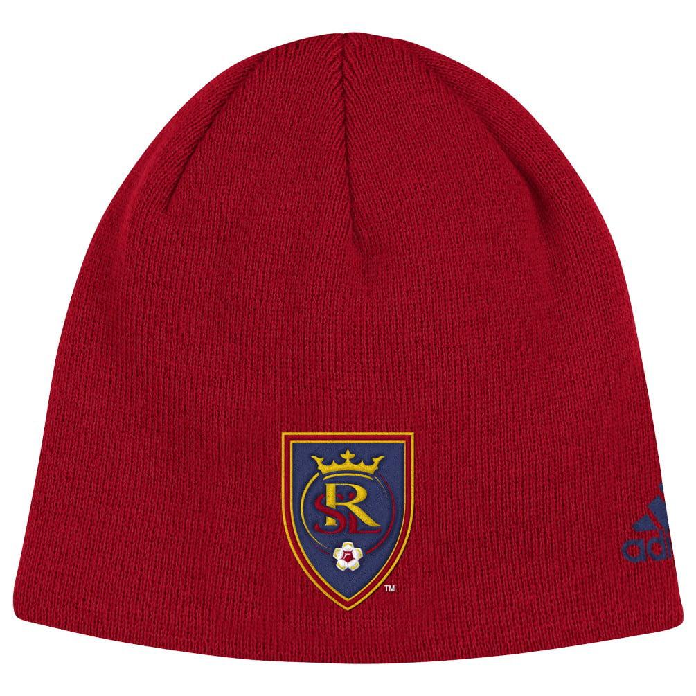 "Real Salt Lake Adidas MLS ""Team Basics"" Cuffless Knit Hat by Adidas"