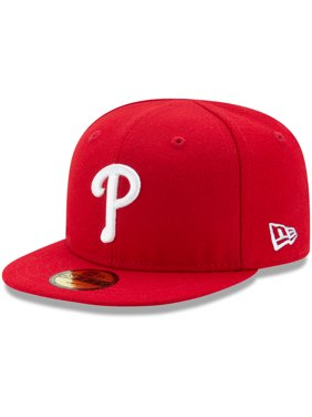 5334dcee Product Image Philadelphia Phillies New Era Infant Authentic Collection  On-Field My First 59FIFTY Fitted Hat -