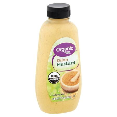 Great Value Organic Dijon Mustard, 8 oz