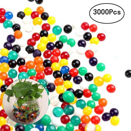 3000 Pcs 25 3mm Water Beads Crystal Mud Crystal Water Gel Beads