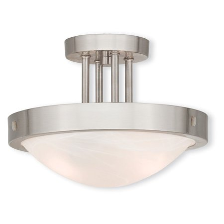 Livex Lighting New Brighton 2 Light Ceiling Mount