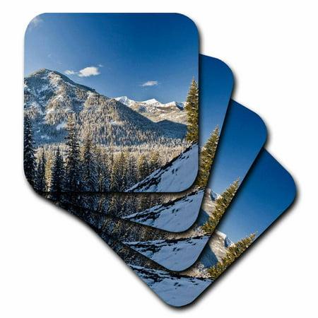 3dRose Palisade Waterfalls, Bozeman, Montana - US27 BBR0006 - Brent Bergherm, Ceramic Tile Coasters, set of 4