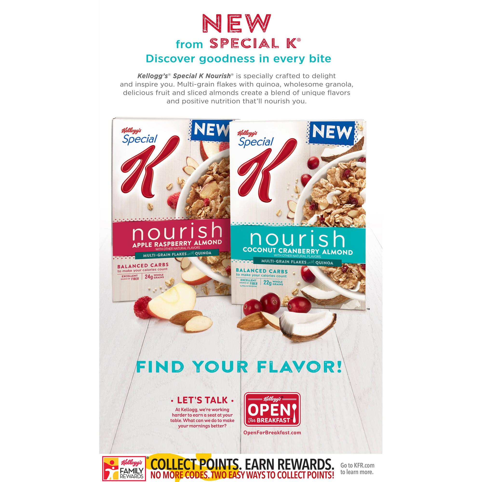 Kellogg\u0026#39;s Original Special K Cereal, 18 oz - Walmart.com