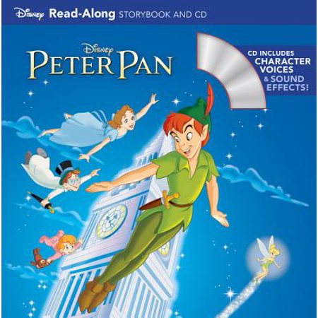 Peter Pan Read-Along Storybook and CD - Halloween Read Along Stories