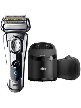 Series 9 Braun Series 9 9295cc Men's Electric Foil Shaver, Wet and Dry Razor with Clean & Charge Station