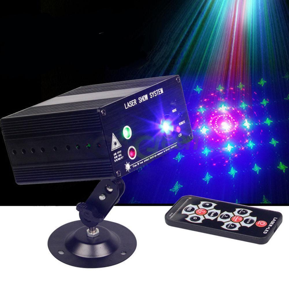 Ktaxon New 48 Pattern Laser Projector Stage Lights LED RGB Lighting Party KTV DJ Disco