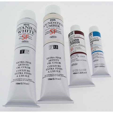 Holbein Artists' Oil Color - 20ml Tube - Transparent Vermilion